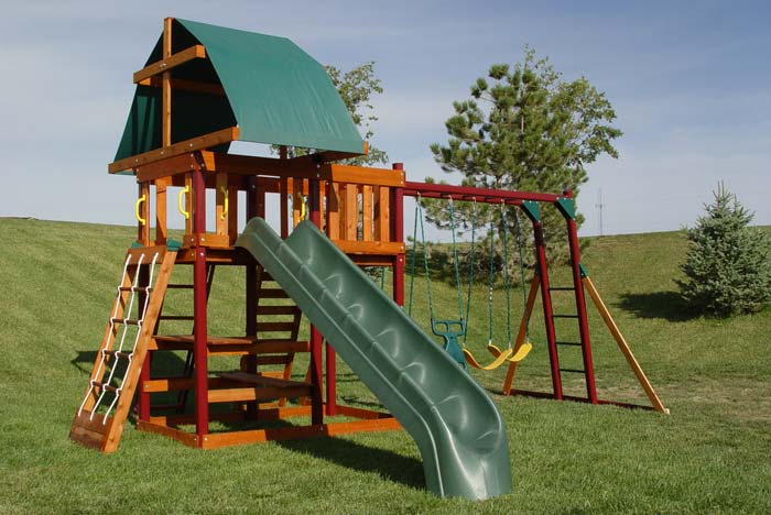 Adventure Playsets 2006 Play Sets Outlook Ii Wooden