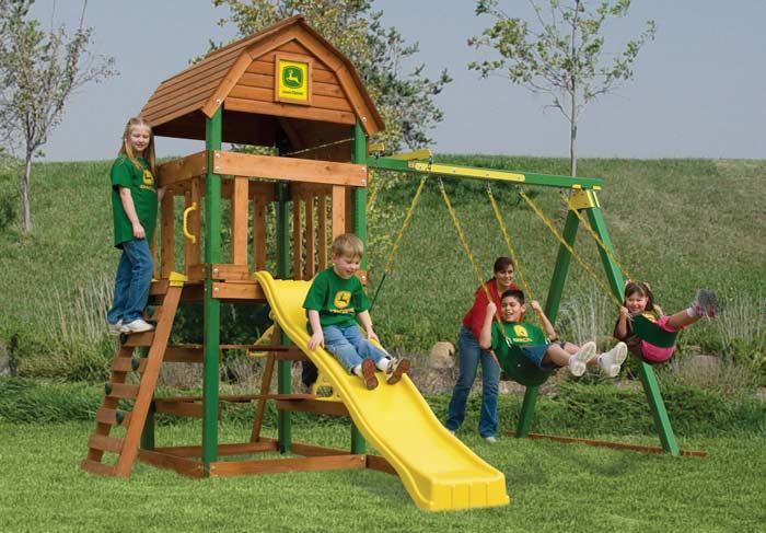 Adventure Playsets 2007 Play Sets John Deere Country Barn